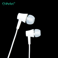 Phone accessory Headset earphone for mobile phone with Handsfree style