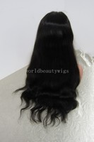 2013 best selling brazilian human hair natural color natural wave middle u part lace front wig