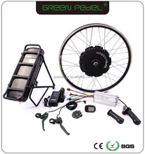 High power rear wheel 48v electric bike conversion kit 1000w with battery