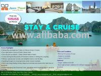 SUMMER PROMOTION - Cruise Halong 2 days -1 night at Green Street Hotel + 1 night at Aclass Cruise + free pick up at the airport