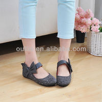 hot shoes 2013 new style girls nice flat shoes GP801