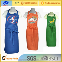 Printing straps and adjust buckles printed polyester apron