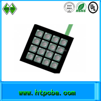 high quality metal dome PCB membrane switch