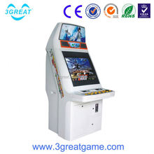 Popular arcade cabinet fighting video game machine