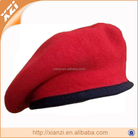 2013 fashion high quality women army beret ladies red navy hat