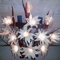 Flowers Wall Lamp Electric With Vase (OTOP)