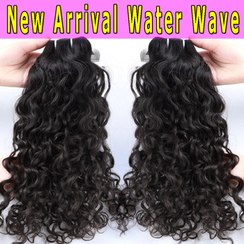2017 XBL New Hair Style Hot Selling Virgin Top Premium Water Wave Hair Weave