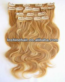 2013 Hot!!! Direct Factory Gorgeous Clip In Remy Hair Extension Italian Curl