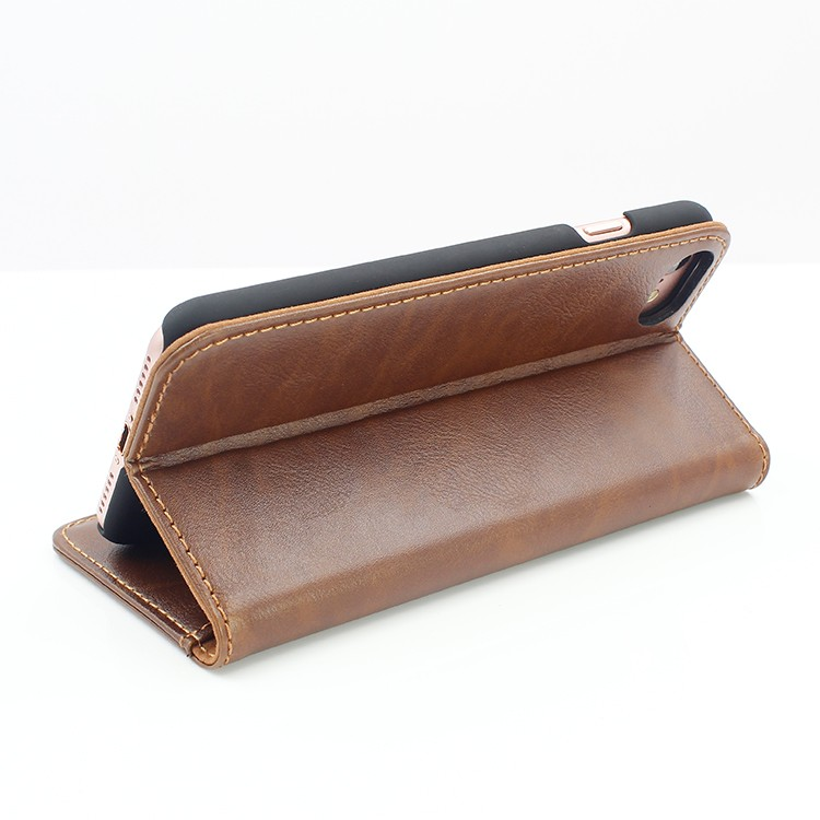 Hot Sale Newest Luxury Leather book Case for Iphone 7
