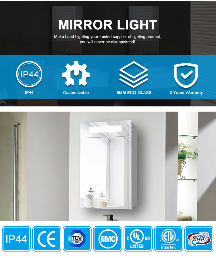 TV Mirror With Touch Screen