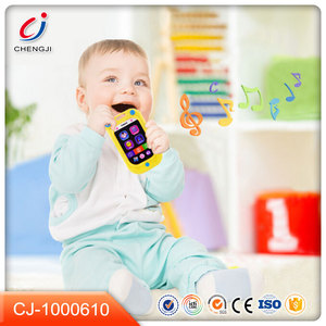 Wholesale factory price music and light plastic new baby phone