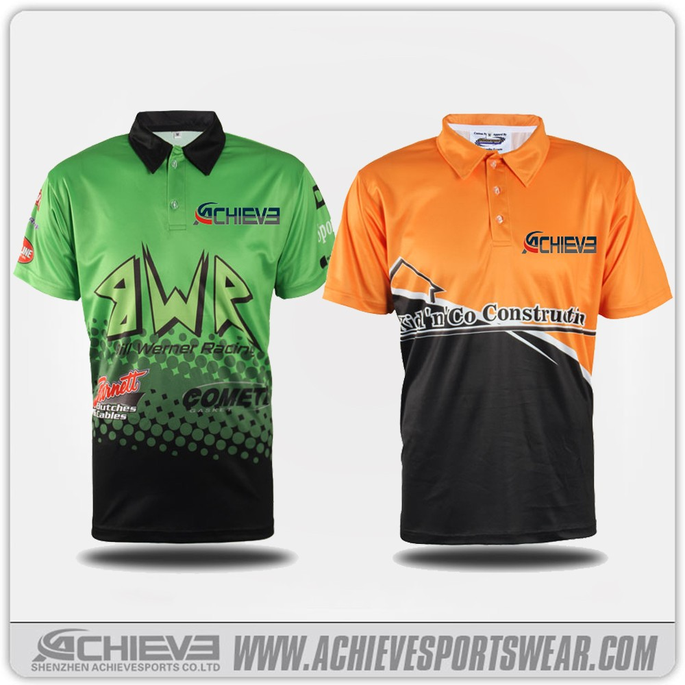wholesale china new high quality mens branded dry fit sublimation custom polo shirts design
