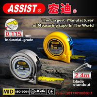 round shape ASSIST 3m 5m 5.5m 7.5m 8m 10m tape measure/new abs tape measure/water proof steel measuring tape hardware tools