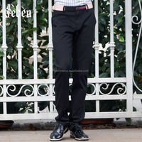 business pants spring summer style casual pants trousers100%cotton high quality outdoor fitness 30-33 size black color 151123