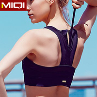 2016 latest new woman yoga clothing wholesale sports bra top with support inner bra and elastic baldric yoga clothing