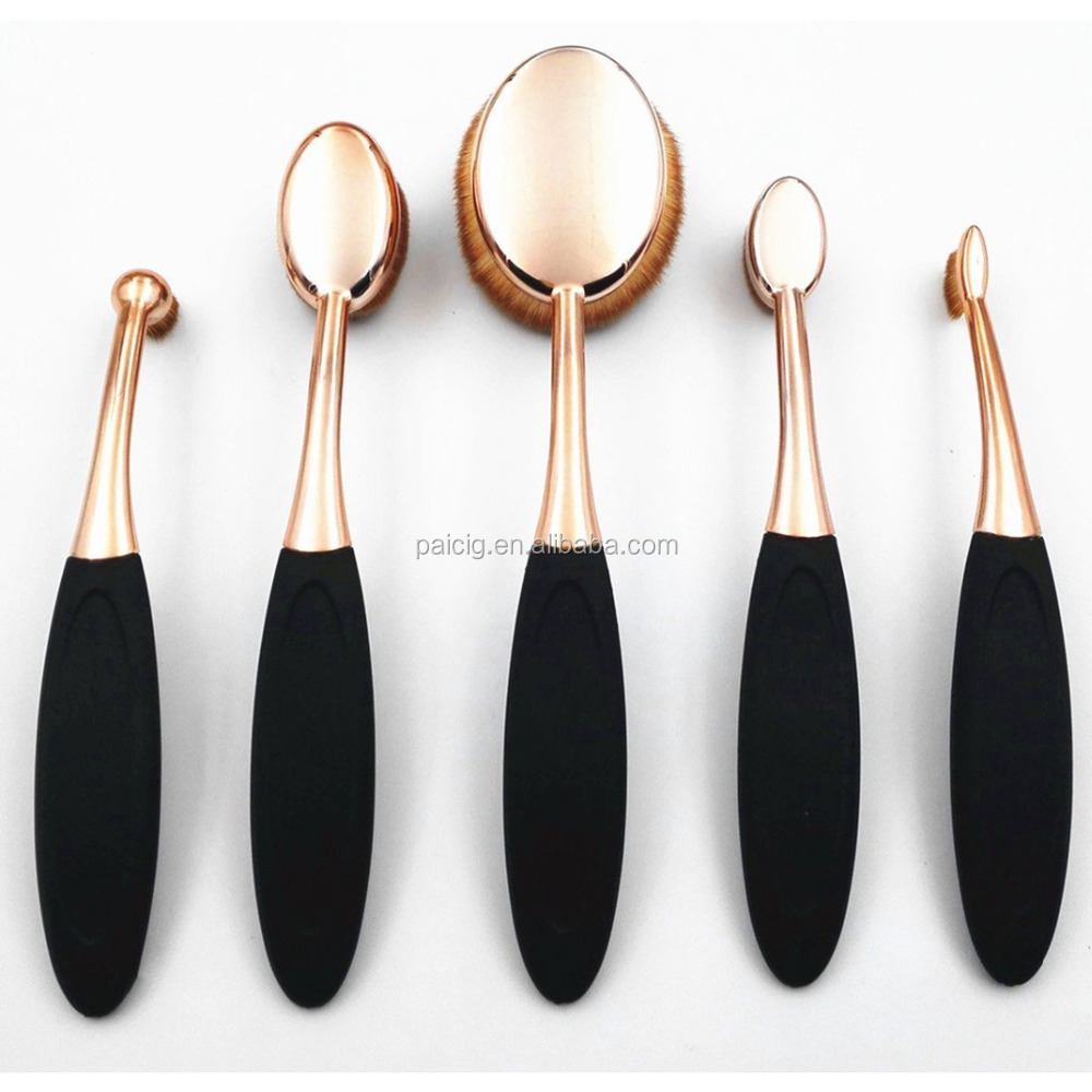 Wholesale Price 5 pcs Professional Makeup Brush, Custom Logo brush Cosmetic brushes