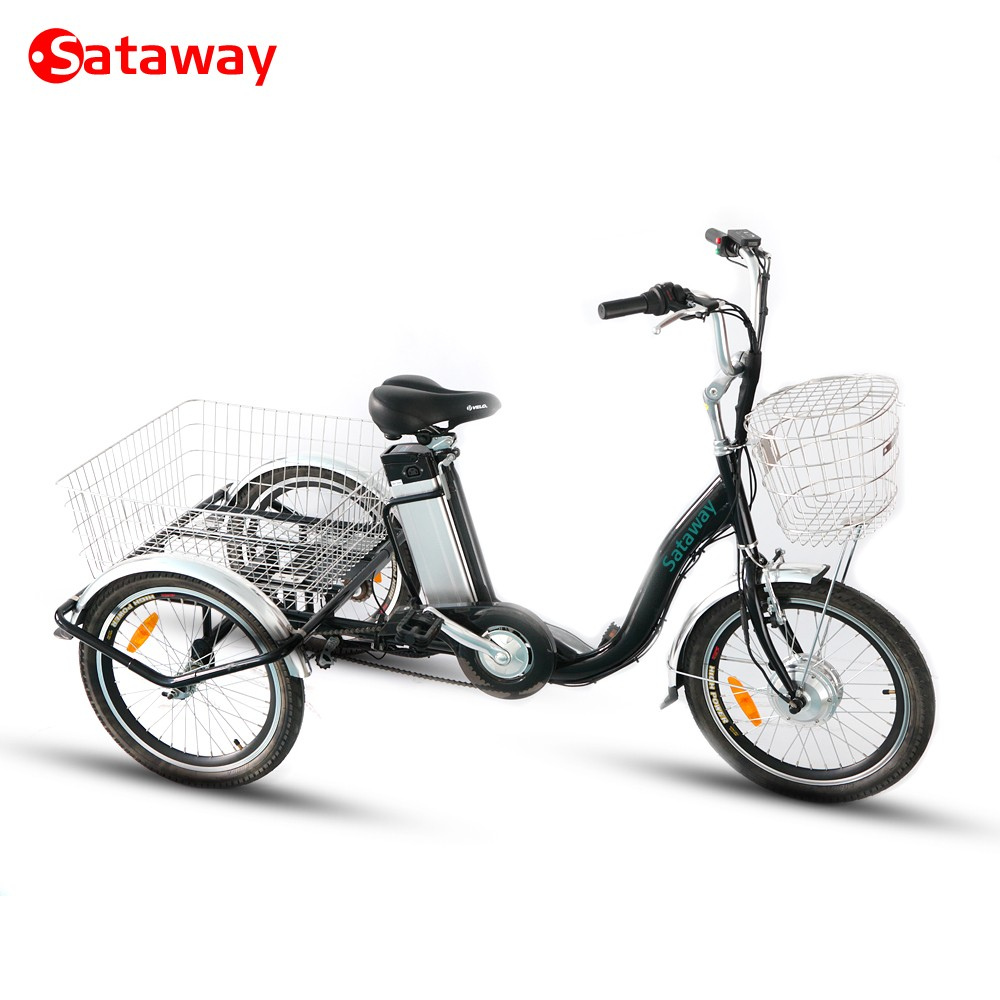 Sataway high quality e-tricycle with elderly