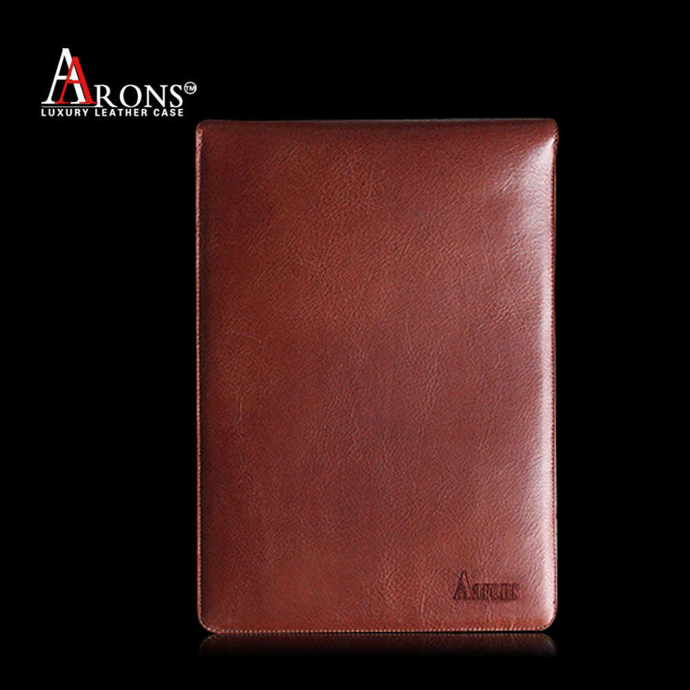 For ipad genuine leather pouch bag for men