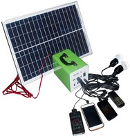 electrical equipment supplies 10W 20W 30W solar home kit 12v solar lighting system