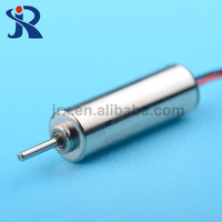 High speed DC 3.7V 4mm micro coreless driving motor for PCB board 73000 rpm JMM-1400