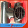 Equal pipeline barred tee pipe fittings