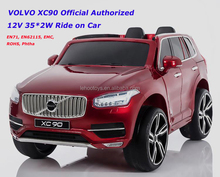 VOLVO XC90 Licensed Ride on Car RC Electric kids car 12V battery double motor 35W ride on cars Volvo for kids