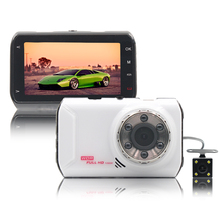 New Allwinner Chipset Car Camera HD Car Records Double Recorder 1080P Car DVR