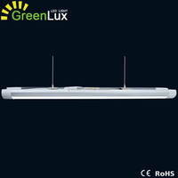 T5 T8 Frosted diffuser surface mount led slim line fluorescent tube batten light fittings