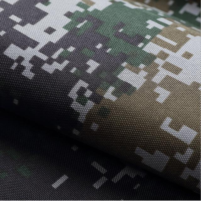 Factory Price Woodland Camo 900D PU coated Oxford Fabric