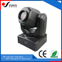 Guangzhou 30W led mini moving head manual lights with 9 11CH 7 colors white