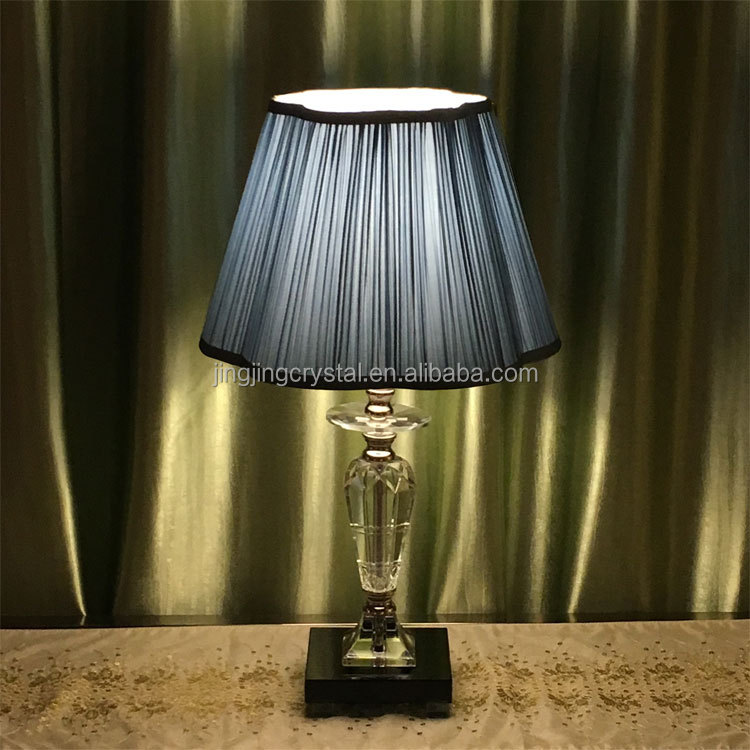 New design rechargable table lamp crystal chandelier table lamp