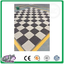 Latest style outdoor green material firebricks paving tiles for kitchen space decorative