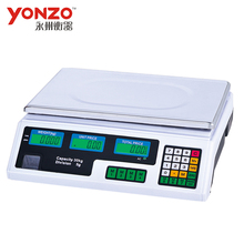 yonzo 30kg electronic double pan balance scale