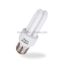 3W 2U compact florescent light/energy saving lamp/2U cfl/2U energy saving bulb