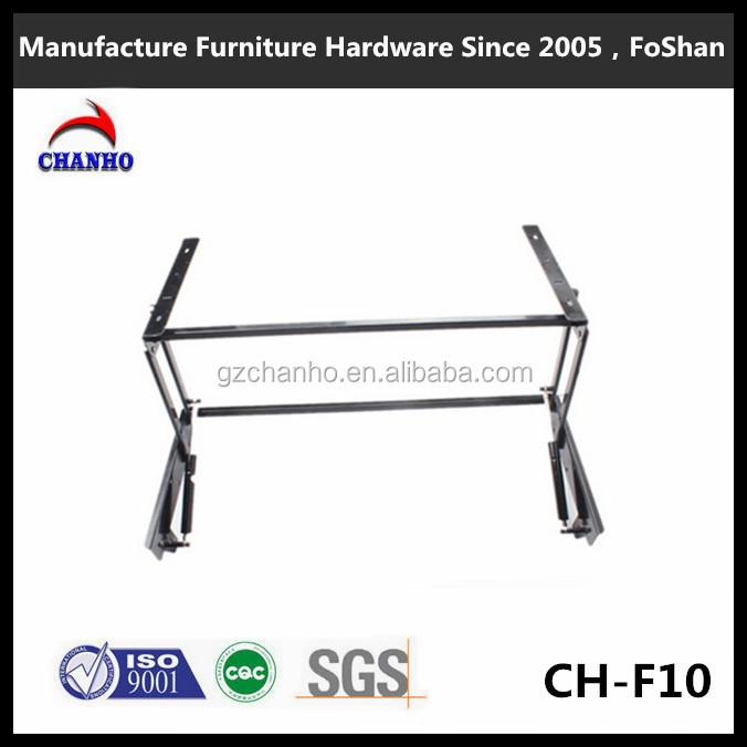Manufacturer supply metal coffee table lifting parts/table folding transform coffee table hinge table CH-F10-3