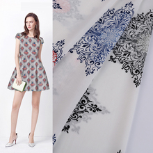 china manufacturing knitting woven pure silk printed fabric