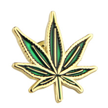 leaf pin iron die strcuk transfer color leaf badge lapel pin