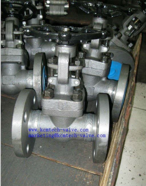 Flange forged gate valve( 304,316,F11,F22)
