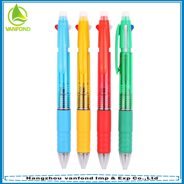 China multifunction ball pen and pencil with eraser for promotion
