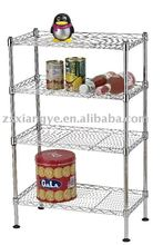 4 Tiers Mini Wire Shelving