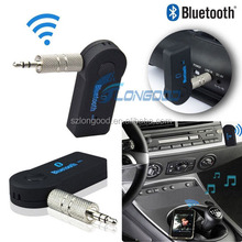 3.5mm jack wireless bluetooth music receiver,bluetooth car aux in adapter