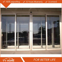 Modern style Aluminum Cold Room Sliding Door Luxury Partition Wall Sliding Doors
