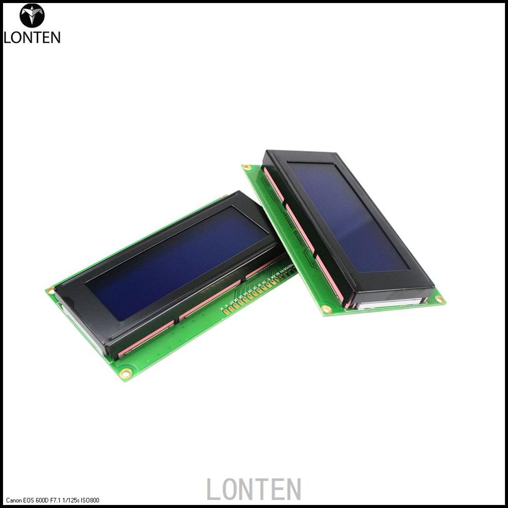 LCD Board 2004 20*4 LCD 20X4 5V Blue screendisplay LCD <strong>module</strong> for aduino