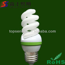 Specially Design Full Spiral Energy Saving Lamp Series 9mm/12mm/14.5mm Diameter