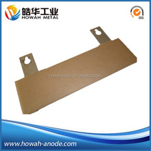 platinized titanium electrochemical cell anode for electrolysis