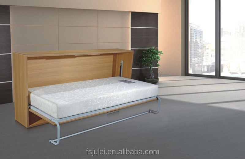 Custom Designed Modern Wall Queen Size Folding Bed Frame