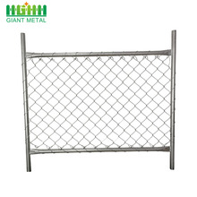 Removable fence Construction Chain Link fencing Temporary Fence