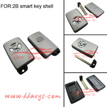 Replacement new style smart key shell fob 2 button Toyota cover Blank