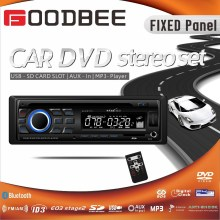 1 Din Fixed Panel Car DVD Player with VA LCD Display