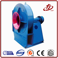 High pressure centrifugal fan for flour mill